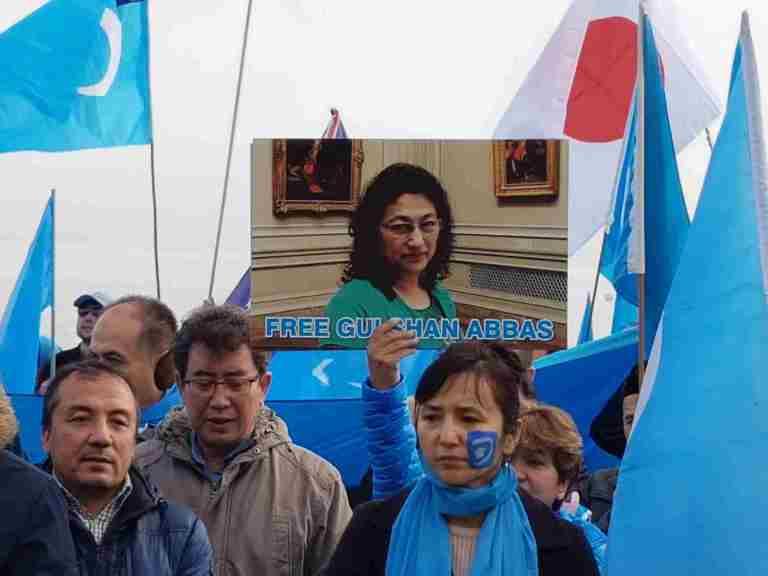 demonstration at UN Geneva