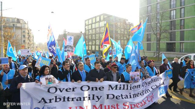 procession at UN Geneva