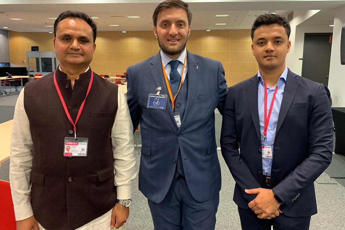 Alessandro Amicarelli, Sri Prakash and Prasun Prakash