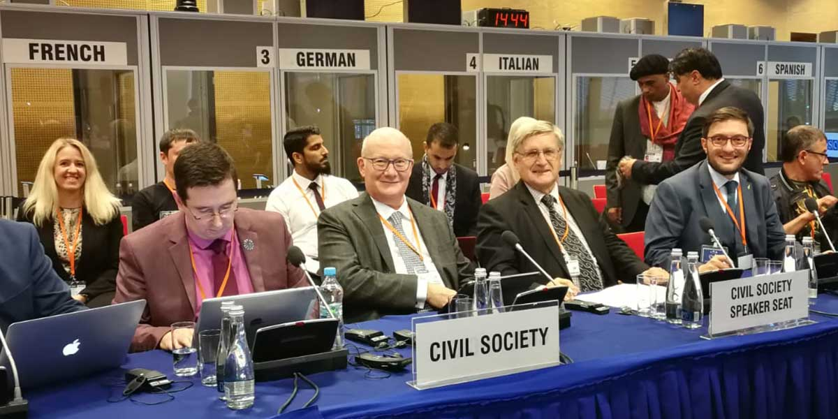FOB Chairman, associates and friends at OSCE HDIM 2019