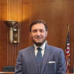 Alessandro Amicarelli, FOB Chairman at US Senate in 2019
