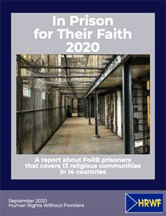 In Prison for Their Faith 2020, cover
