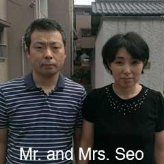 Mr. and Mrs. Seo