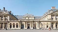Palais Royal in Paris